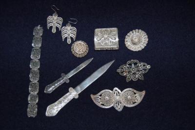 Сребърна бижутерия
